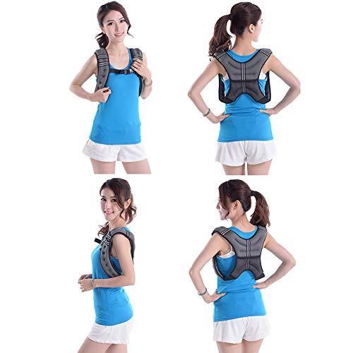 Acreny Gewichtsweste für Herren, Damen, Kinder, Training, Workout, verstellbare Gewichtsweste 2 kg
