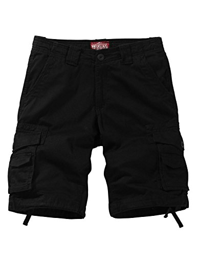 Matchstick Hombre Shorts Cargo #S3612(Negro (S3612 Black),32W (ES 42))