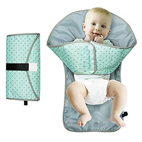 Almohadilla de repuesto para pañales de bebé, almohadilla de repuesto para manos de limpieza portátil y resistente al agua