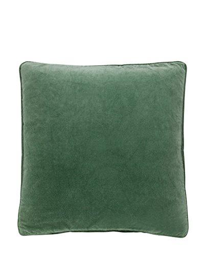 Bungalow - Kissenbezug - Kissenhülle - Kissen - Velvet Ivy - grün - Baumwolle - 50 x 50 cm