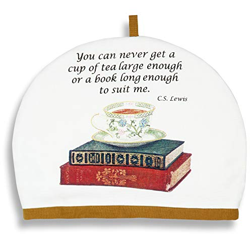 Alice's Cottage Teacup and Books Cotton Tea Cozy Cosy