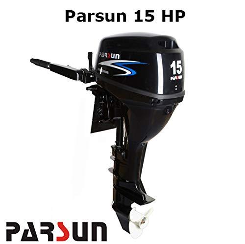 Parsun Motor 4T-15 H.P. Elektronisch kurz (F15ABWS) – Robuste, leichte Reihe.