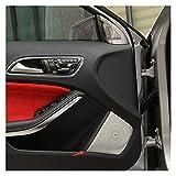Morning Ajuste para Mercedes Benz GLA X156 CLA C117 AMG AMG Estilo de automóvil Interior Recorte Audio Puerta Altavoz Deco Cubierta Coche Estéreo Protección Etiqueta (Color Name : For CLA)