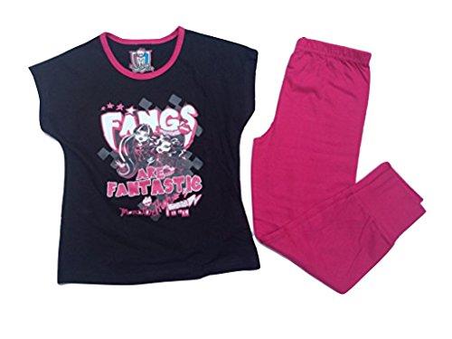 Monster High Schlafanzug Fangs are Fantastic schwarz (152)