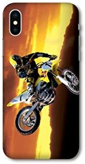coque iphone xs max moto cross