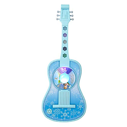 Frozen Magic Touch Guitar - Features Songs - Let It Go, in Summer, for The First Time in Forever, 20 in