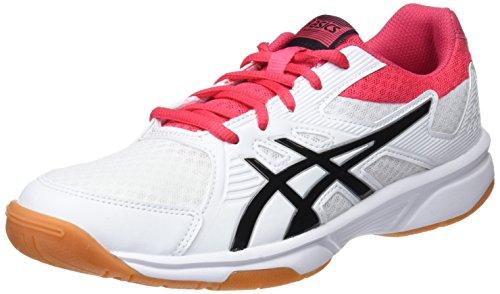 Asics Upcourt 3, Women's Squash Shoes, White (White/Pixel Pink 101), 7 UK (40.5 EU)
