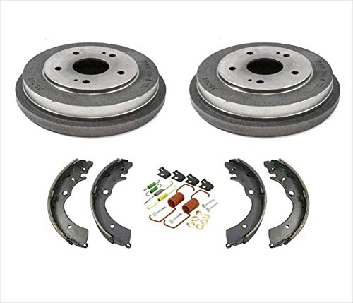 Rear Drums Brake Shoes & Spring Kit for Honda Accord 2.4L 2003-2007
