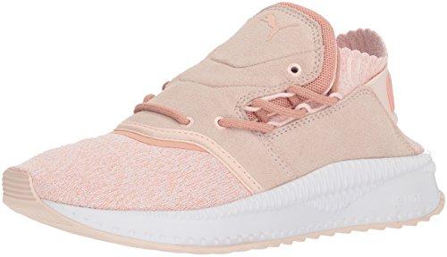 PUMA TSUGI Shinsei Evoknit Wn, Zapatillas Deportivas. para Mujer, Pearl Peach-Botella para Whisper Color Beige, 36 EU