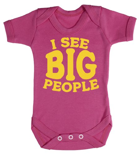 Baby Buddha - I See Big People Body bébé 6-12 Mois Rose