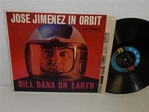 JOSE JIMENEZ In Orbit, BILL DANA On Earth LP Kapp KL-1257 mono vg+ space age cvr