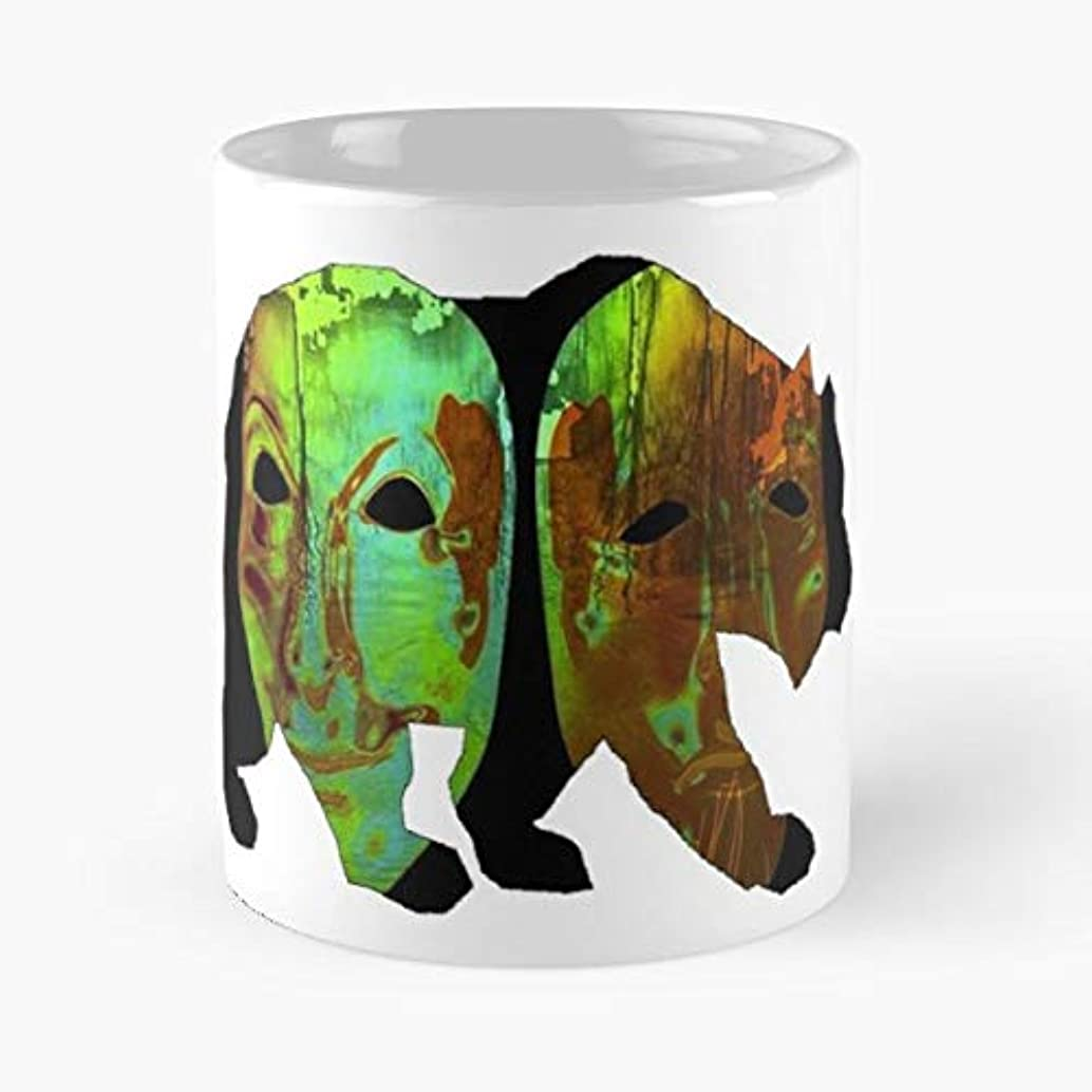 Face Abstract Bear Grizzly Kenai - Best Gift Ceramic Coffee Mugs