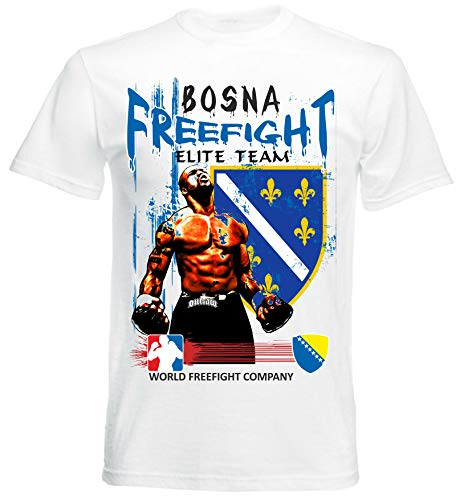 Freefight Bosnien MMA - Muay Thai Boxen - T-Shirt - Bosna FF-BOS