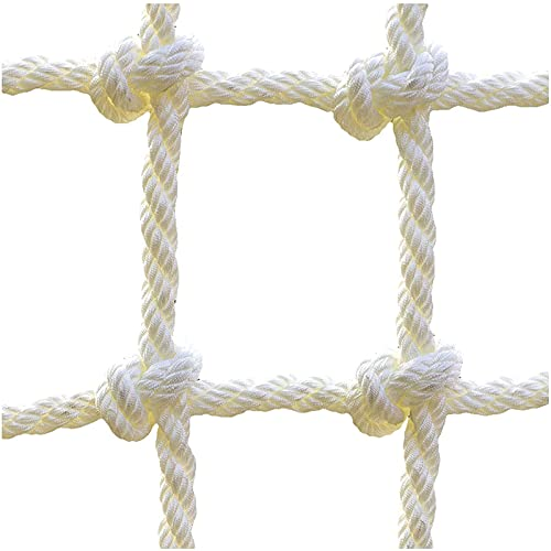 Hard Disk Climbing Net for Kids, Safety Net, Polyester Rope Net, Cargo Climbing Net, for Playground Backyard Treehouse Swingset Training Obstacle Course Rope Ladder, Max Load 100kg,45m(12.1215.15ft)