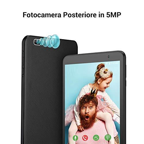 Tablet 7 Pollici 2GB + 32GB Espandibile fino a 128GB, VANKYO Tablet S7 con Processore Quad-Core Android 9.0, RAM, Fotocamera di 2MP + 5MP, WiFi