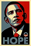 Barack Obama Hope Political Campaign Art Cool Wall Decor Art Print Poster 24x36