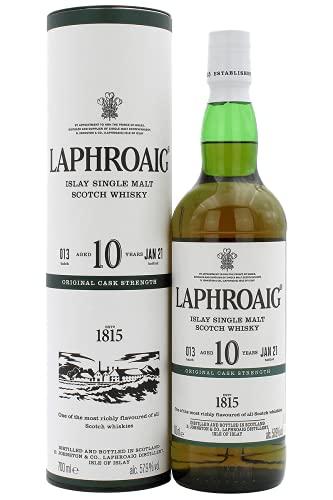 Laphroaig 10 Year Old Original Cask Strength Batch 012 – 2020