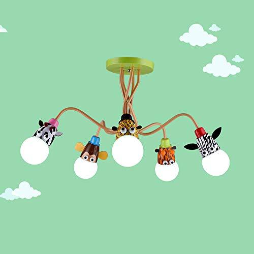 Lampadario da soffitto per bambini,Plafoniera per bambini a tema animale,Perfetto per la cameretta dei bambini/la stanza...