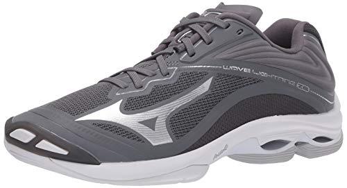Mizuno Wave Lightning Z6 Mens Volleyball Shoe, Grey, 11