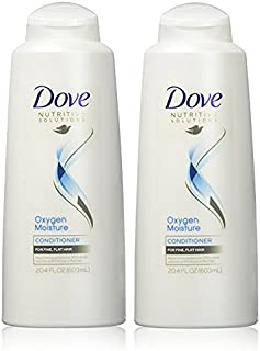 Dove Conditioner Oxygen Moisture, 20.4 Ounce (2 Pack)