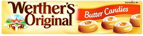 Werther Origine Bonbons Beurre Traditionnel 50g (Pack de 24 x 50g)