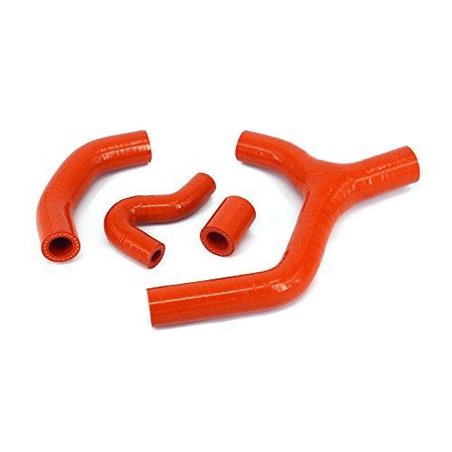Xin naranja reforzado silicona radiador