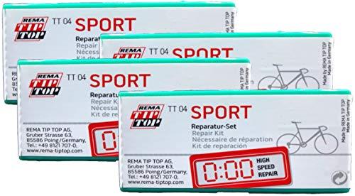 Rema Four (4) Sport Bicycle Narrow Tube Patch Repair Kits TT04 (24) - TT O4