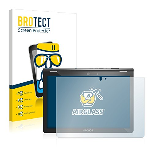 BROTECT Panzerglas Schutzfolie kompatibel mit Archos Oxygen 101 - AirGlass, 9H Härte, Anti-Fingerprint, HD-Clear