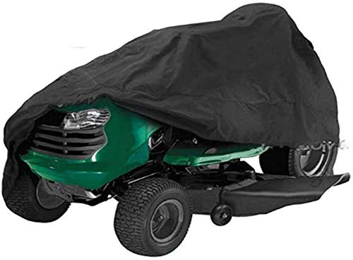 Y DWAYNE Waterproof Riding Lawn Mower Covers X Heavy Duty 210D Oxford Tractor Covers Tear Resistance Outdoor Furniture Covers Dustproof Patio Mower Cover
