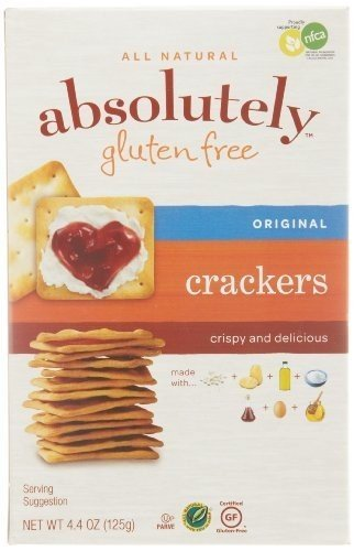 Absolutely Gluten Free Crackers 4.4 OZ Case of 12