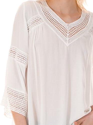 Vila Blusa ibicenca Crochet Vicarrie Blanca Clothes (M ...