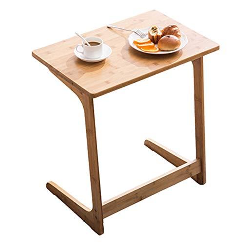Tables basses Latérale d'angle Petite Table Canapé Table D'appoint Mini Table Carrée Table De Chevet Armoire Latérale Créative Cadeau (Color : Brown, Size : 60 * 40 * 65cm)