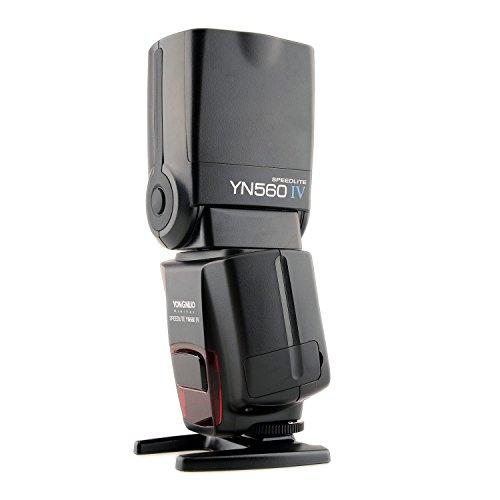 YONGNUO YN560 IV Wireless Flash Speedlite Master + Slave Flash + Built-in Trigger System for Canon Nikon Pentax Olympus Fujifilm Panasonic Digital Cameras
