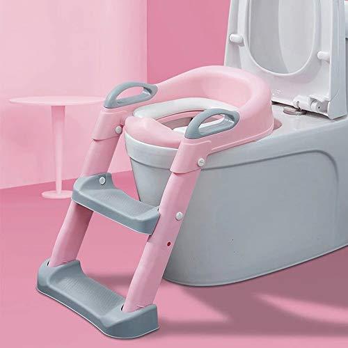 Asiento Inodoro para Niños,Reductor de WC,Adaptador para inodoro para niños,Tapa WC con...