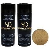 Fibras Capilares Salvathor Duran 25g x2 - Pack Dos Unidades - Hair Fiber Duo (50 gr. Total) (Rubio Claro)