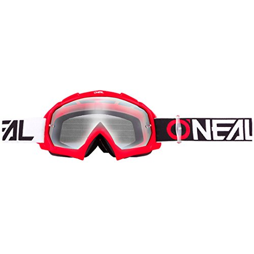 O'NEAL B10 Twoface Goggle Goggle MX DH Brille rot/klar Oneal
