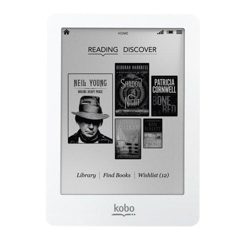 KOBO GLO eBook Silber