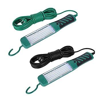 BANGNA Portable LED Sécurité d'urgence Travail Lumière De Poche 80 LED Perles Lampe De Poche Inspection De Voiture Réparation Torche 220V avec Crochet Lanterne Portable