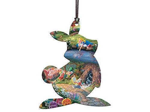 Price comparison product image Trend Setters Disney Alice in Wonderland White Rabbit Shaped Hanging Acrylic Decoration