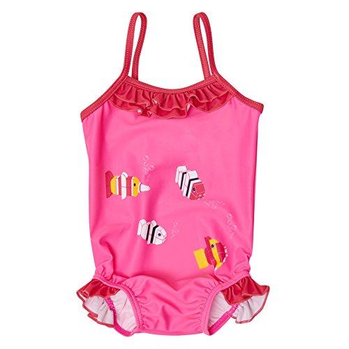Lego Wear Duplo Girl AFIA 422-Badeanzug Maillot Une Pièce, Rosa (Pink 437), 18 Mois Bébé Fille