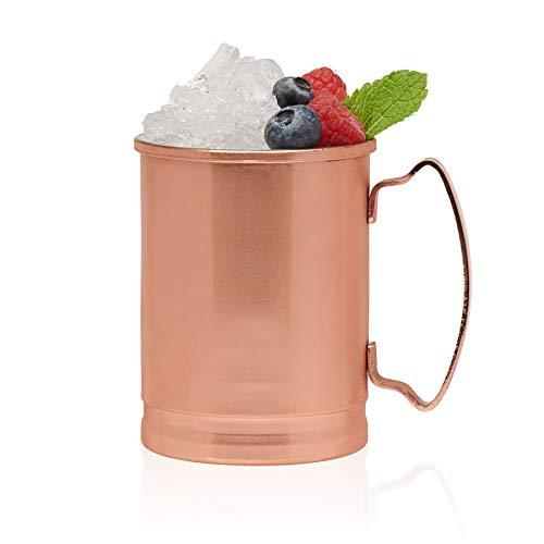 Libbey Moscow Mule Copper Mugs, Set of 4, 14 oz