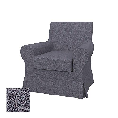 Soferia - IKEA EKTORP JENNYLUND Funda para sillón, Nordic Anthracite