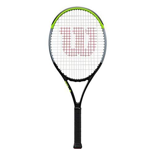 Raquetas Tenis Profesional Junior Tenis De Fibra De Carbono Tenis Individual Fibra De Carbono Apariencia Elegante (Color : Green, Size : 26in)