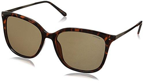 Polaroid Sunglasses Women's PLD4043/S Square Sunglasses, Violet...
