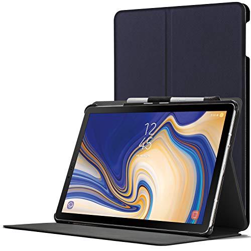 FC Cover per Samsung Galaxy Tab S4 10.5 - Custodia Protettiva Magnetica Supporto per Samsung Galaxy Tab S4 10.5 pollici 2018 SM-T830/T835 - Smart Auto Sveglia Sonno - Sottile Leggero - Blu Marino