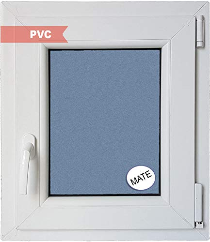 Ventanastock PVCB0001L Ventana PVC Oscilobatiente, Blanco