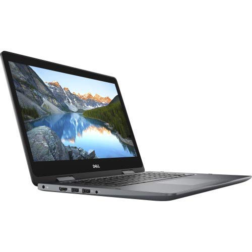 Dell i5481-5076GRY 2 in 1 Notebook - Inspiron 14 5000 5481 14 inches Touchscreen 1366 x 768 Core i5 i5 8265U 8 GB RAM 1 TB HDD Gray Windows 10 Home 64 bit Intel UHD Graphics 620 (Renewed)