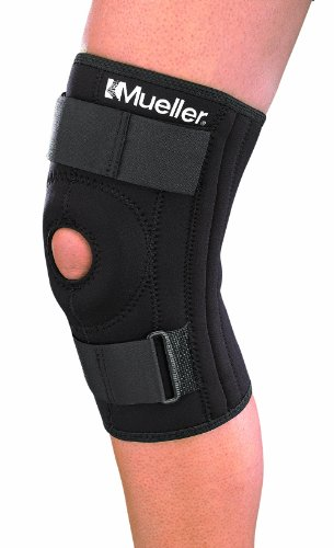 Mueller Sports Medicine Patella Stabilizer Knee Brace, Small, Black, 1-Count Package