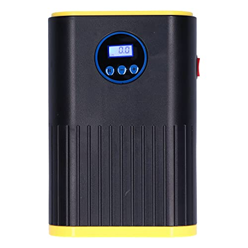 Tissting Inflador de neumáticos Digital de 12 V, compresor de Aire eléctrico portátil, Bomba de neumáticos de Coche, Accesorios para automóviles, inflador de neumáticos de Coche con luz LED