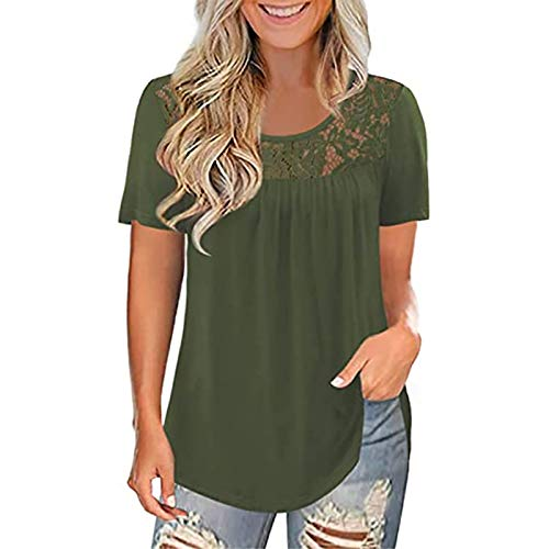 Womens Hoodie Sweatshirts Casual Tunic Tops Long Sleeve Tie Dye Shirts with Pockets Inspirational Outfits Band Tees for Women Women Tops and Blouses White Blouses for Women(#1-Green,XXXL)
